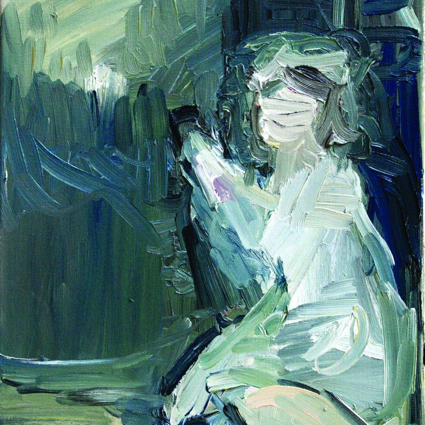 Girl, 2012, oil on canvas, 40 x 30 cm.