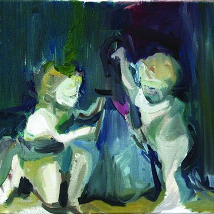 Children, 2012, oil on canvas, 30 x 40 cm.