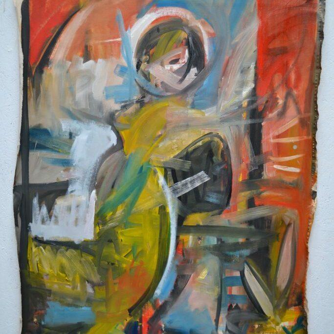 Figure 3, 2016-17, 180x135 cm, oil on canvas