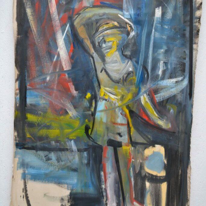 Figure 1, 2016-17, 180x135 cm, oil on canvas