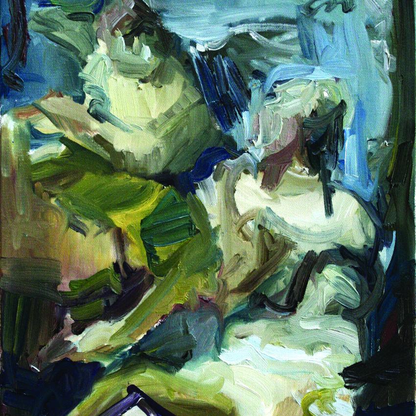 Messenger, 2012, oil on canvas, 40 x 30 cm.