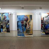 Installation view, Crown Street Gallery, Darlington, UK. October 2019.